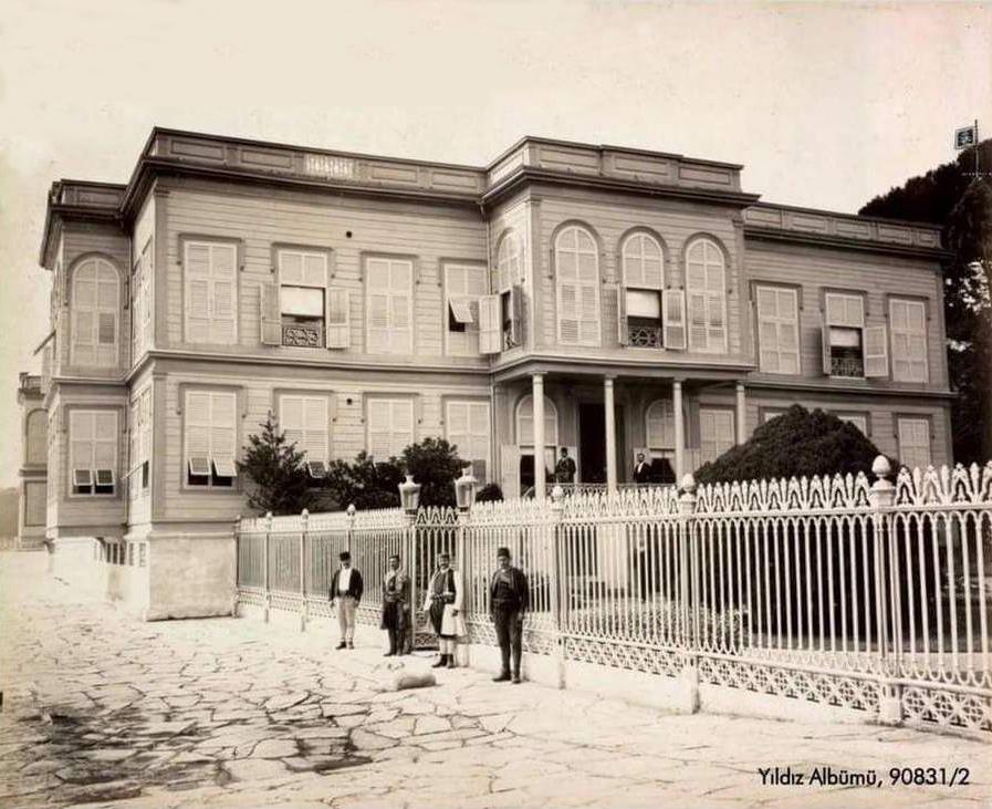 Dvorac Emirgijan (Arhiv Istanbul Univerziteta –İstanbul Üniversitesi'nin Arşivi)