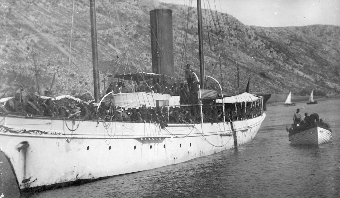 """Jahta """"Zazaˮ po dolasku u Crnu Goru dobila ime """"Rumijaˮ drugi je brod koji je crnogorski knjaz dobio na poklon od turskog sultana"""