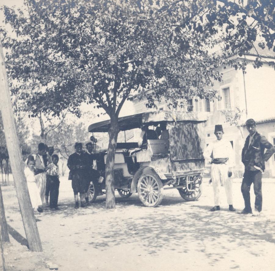 Podgorica, poštanski automobil,Narodni Muzej Crne Gore, Cetinje