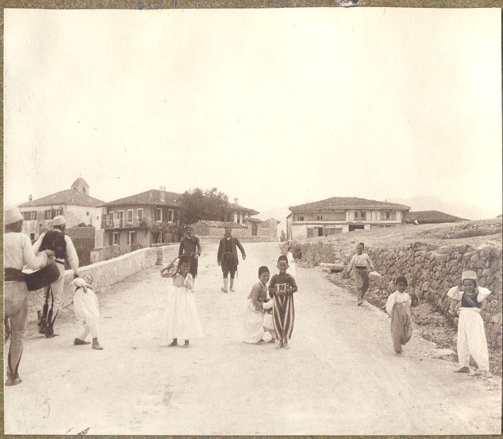 Stara Podgorica, početak XX vijeka,Narodni Muzej Crne Gore, Cetinje