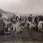Albanci primaju crnogorsku uniformu, Balkanski rat 1912-1913. godine