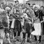 Albanci u pregovorima sa načelnikom Podgorice, nakon 1878. godine