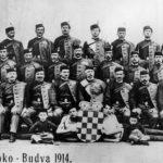 Hrvatski soko Budva, 1914. godine