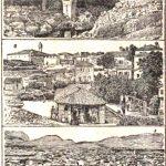 Jedan od crteža Podgorice iz strane štampe, XIX vijek