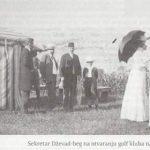 Petrovići u društvu sa turskim poslanikom, 1906. godine