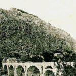 Tvrđava i most u Spužu, 1910. godine