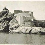 Tvrđava na ostrvu Mamula, na ulasku u Bokokotorski zaliv, 1894. godine