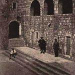 U Cetinjskom manastiru, kraj XIX vijeka