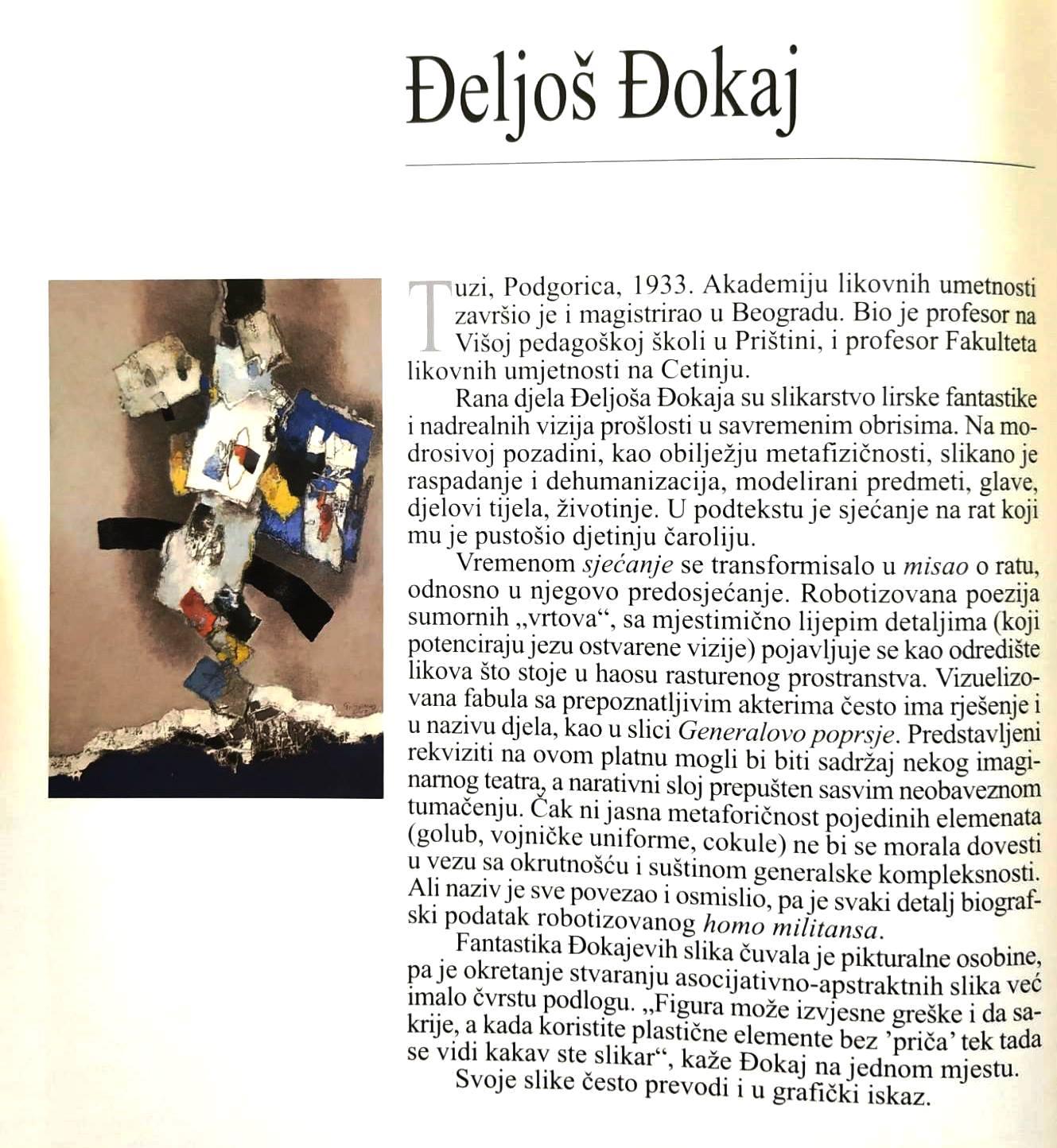 Đeljoš Đokaj, kratka biografija