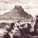 Žabljak Crnojevića, gravura, 1860. godina