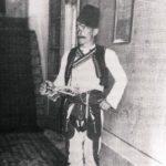 Albanac u dvoru knjaya Nikole na Cetinju, početak XX vijeka