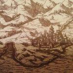 Budva, gravura, 16. vijek