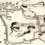 Budva, gravura, 1687. godina