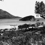 Budva sa pogledom na ostrvo Sv. Nikola, 1937. godine
