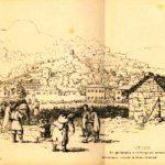 Cetinje, gravura, 1859. godine