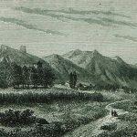Cetinje, gravura, 1870. godina.