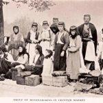 Cetinje, pazar, 1908. godine