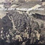Crnogorska vojska ulazi u Peć, 1912. godine