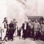 Generali J. Vukotić i R. Vešović u obilasku Skadra, 1912. godine