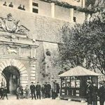 Gradska vrata starog grada Kotora, početak XX vijeka