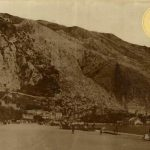 Kotorska riva, početkom XX vijeka