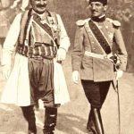 Kralj Nikola sa unukom princem Aleksandrom Karađorđevićem