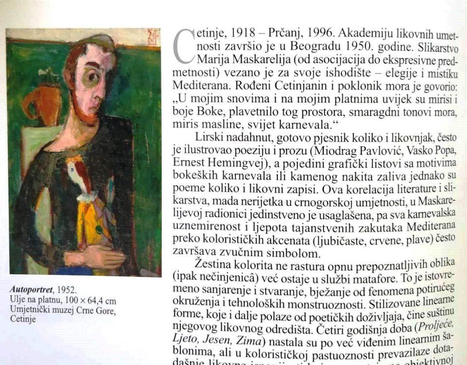 Mario Maskareli, kratka biografija