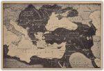Istorijska karta sa prikazom Crne Gore