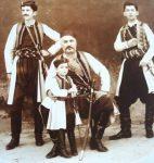 Nikola I Petrović, crnogorski vladar, sa sinovima