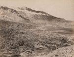 Njeguši, u pozadini Lovćen, kraj XIX vijeka