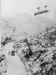 Prevoz austrougarskom žičarom iznad Crne Gore, I svjetski rat