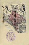 Razglednica povodom Jubileja vladavine Nikole i Milene Petrović, 1910. godine