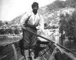 Ribar na Rijeci Crnojevića, 1901. godine