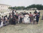 Romska djeca u Podgorici, početak XX vijeka (kolorizovano)