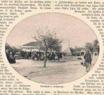 Slika podgoričke pijace u novinama na njemačkom jeziku
